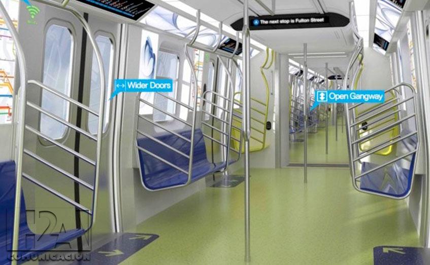 Nueva York ya se prepara para su nuevo metro con WiFi, puertos USB y pantallas digitales