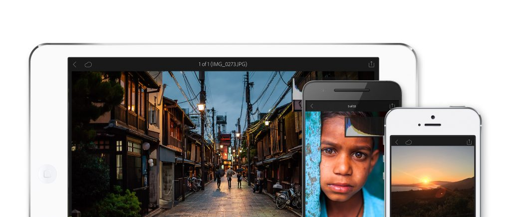 La actualización de Lightroom Mobile está disponible tanto para iOS como para Android © Adobe